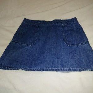 GBgirls denim skirt girls size 12